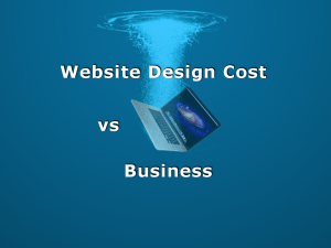 website design cost your business