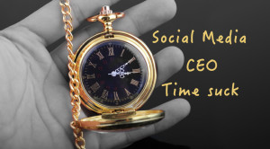 social media CEO time suck